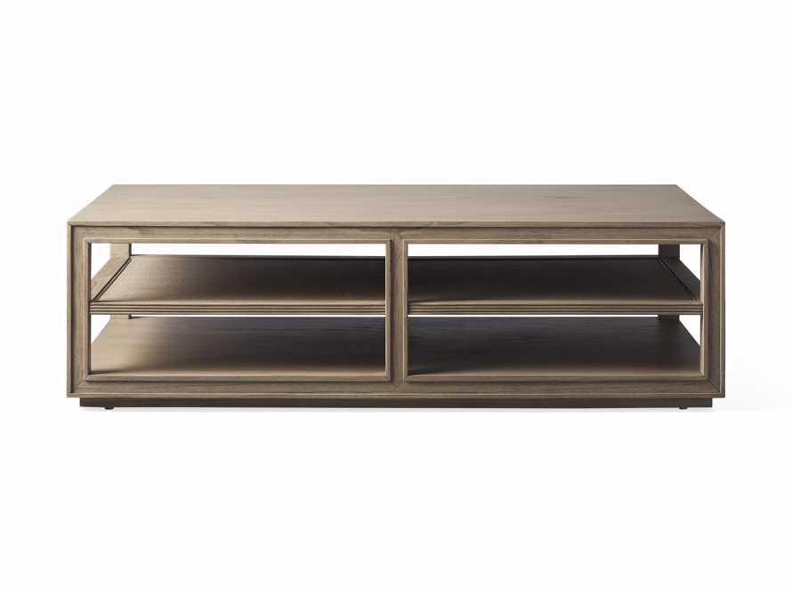 """Pearson 56"""" Cane Coffee Table in Natural, slide 4 of 4"""