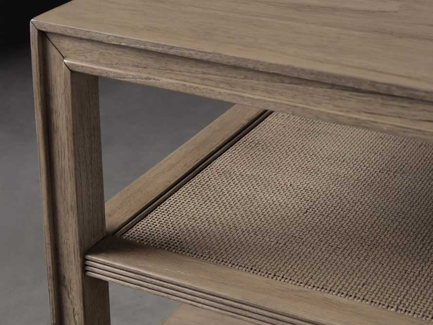 """Pearson 36"""" Cane End Table in Natural, slide 3 of 4"""