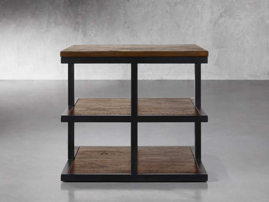 """Palmer 26"""" Three Tier End Table in Bali Brown, slide 1 of 4"""