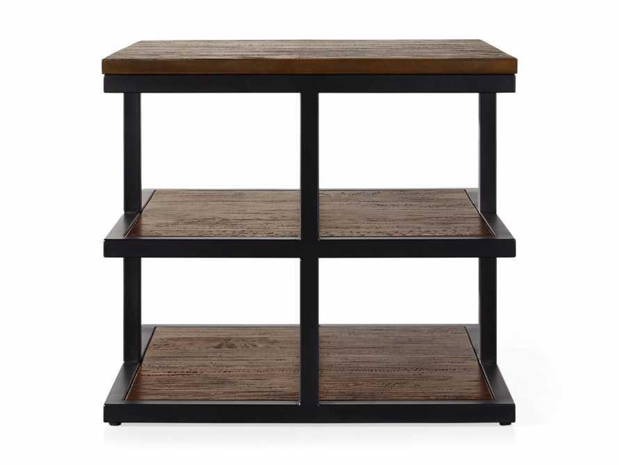 """Palmer 26"""" Three Tier End Table in Bali Brown, slide 4 of 4"""