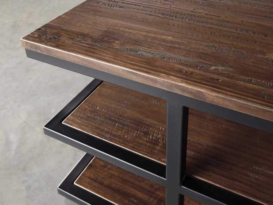 """Palmer 26"""" Three Tier End Table in Bali Brown, slide 3 of 4"""