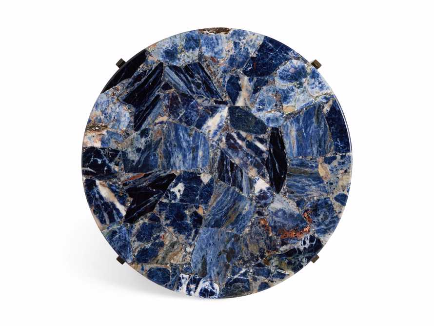 "Ludlow 15"" Royal Sodalite Martini Table, slide 3 of 4"