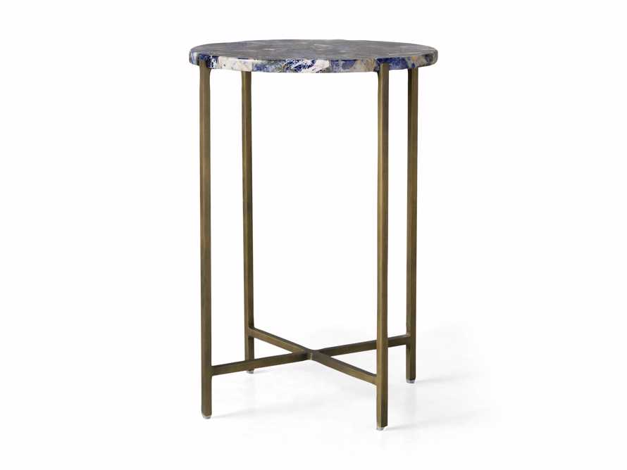 "Ludlow 15"" Royal Sodalite Martini Table, slide 4 of 4"