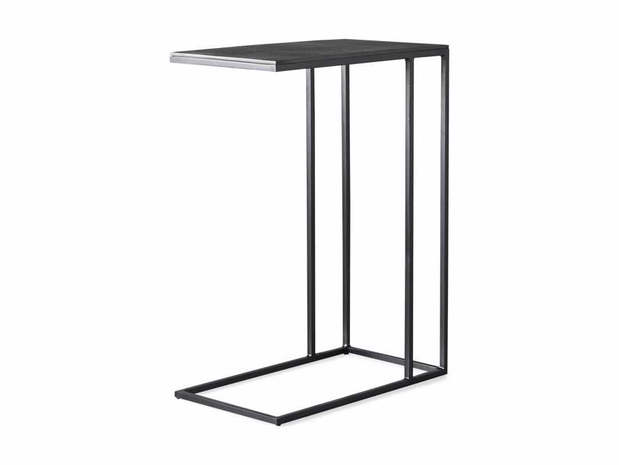 """Martini Tables 17.75"""" C Table Aluminum and Iron in Matte Black, slide 6 of 6"""