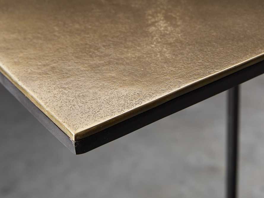Soma C-Table in Brass, slide 3 of 7