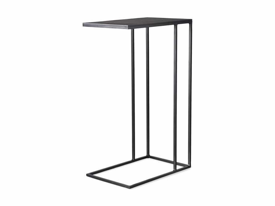 Soma Tall C-Table in Matte Black, slide 6 of 6