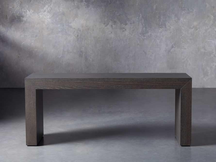 "Sullivan 71"" Console Table in Northman Cinder, slide 1 of 8"