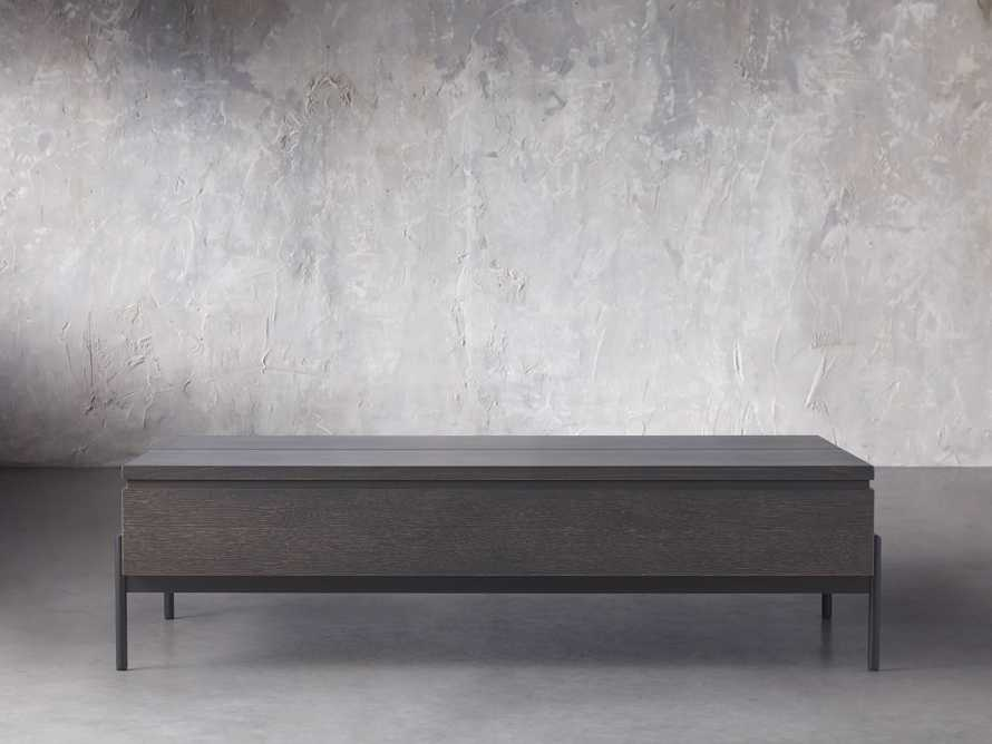 "Sullivan 54"" Storage Coffee Table in Cinder, slide 1 of 7"