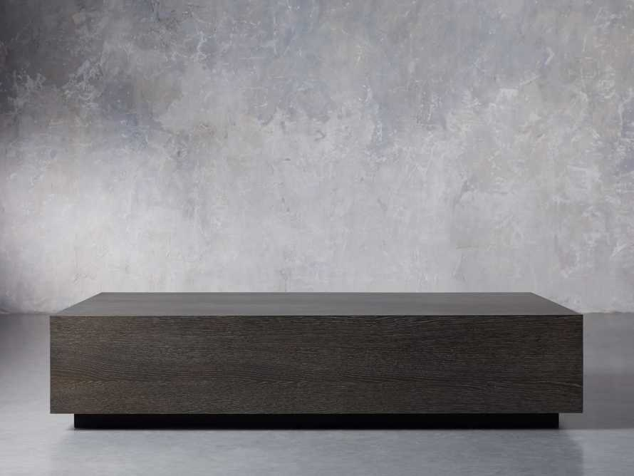 "Sullivan 68"" Coffee Table in Northman Cinder, slide 1 of 7"