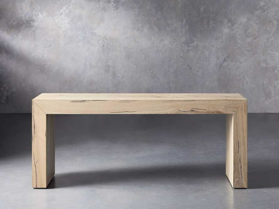 """Sullivan 71"""" Console Table in Northman Sable, slide 2 of 10"""