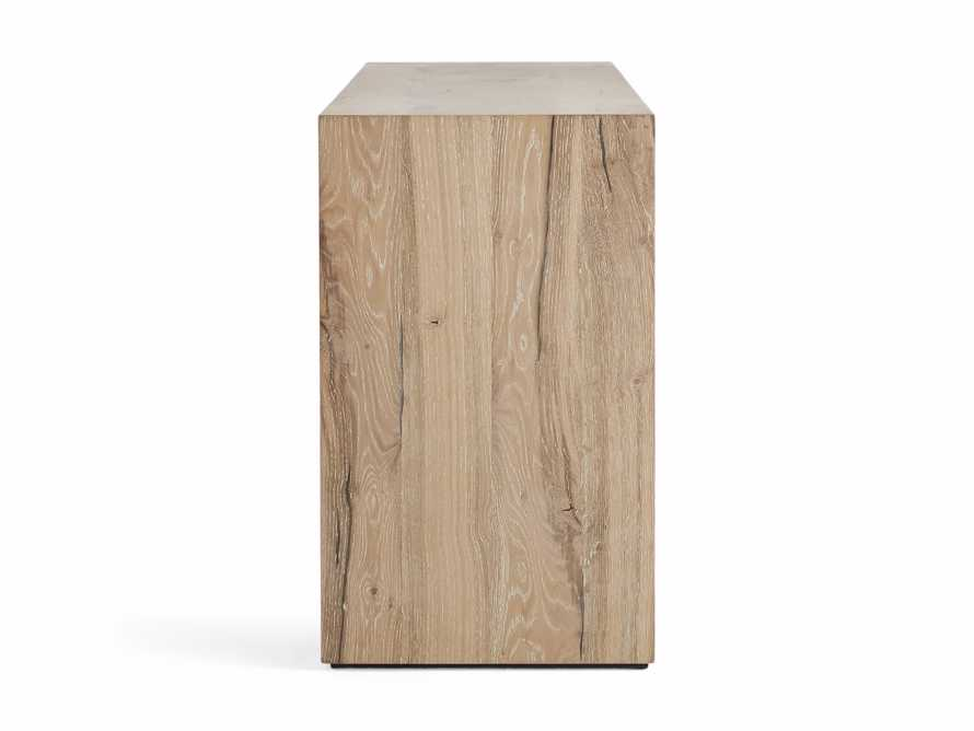 """Sullivan 71"""" Console Table in Northman Sable, slide 9 of 10"""