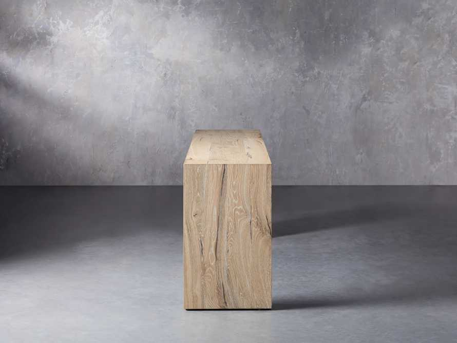 """Sullivan 71"""" Console Table in Northman Sable, slide 4 of 10"""