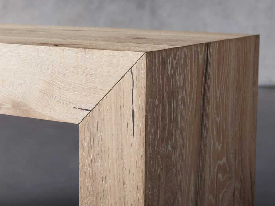 """Sullivan 71"""" Console Table in Northman Sable, slide 5 of 10"""