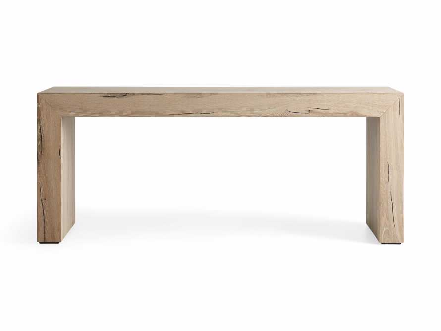 """Sullivan 71"""" Console Table in Northman Sable, slide 8 of 10"""