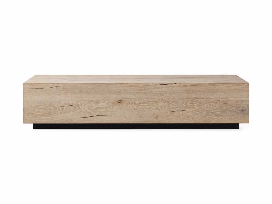 "Sullivan 70"" Wood Coffee Table in Northman Sable, slide 6 of 6"