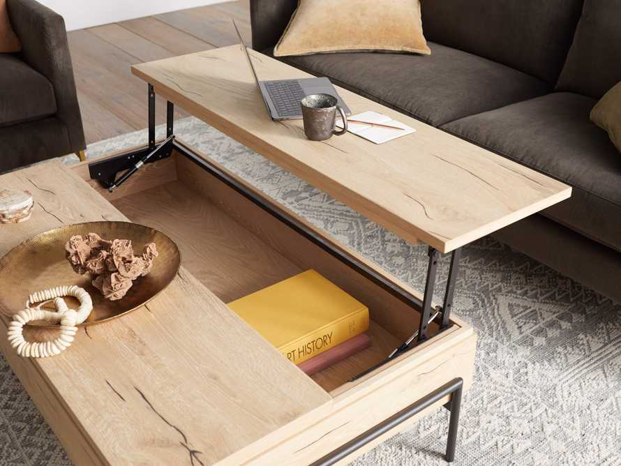 """Sullivan 54"""" Coffee Table in Sable, slide 8 of 12"""