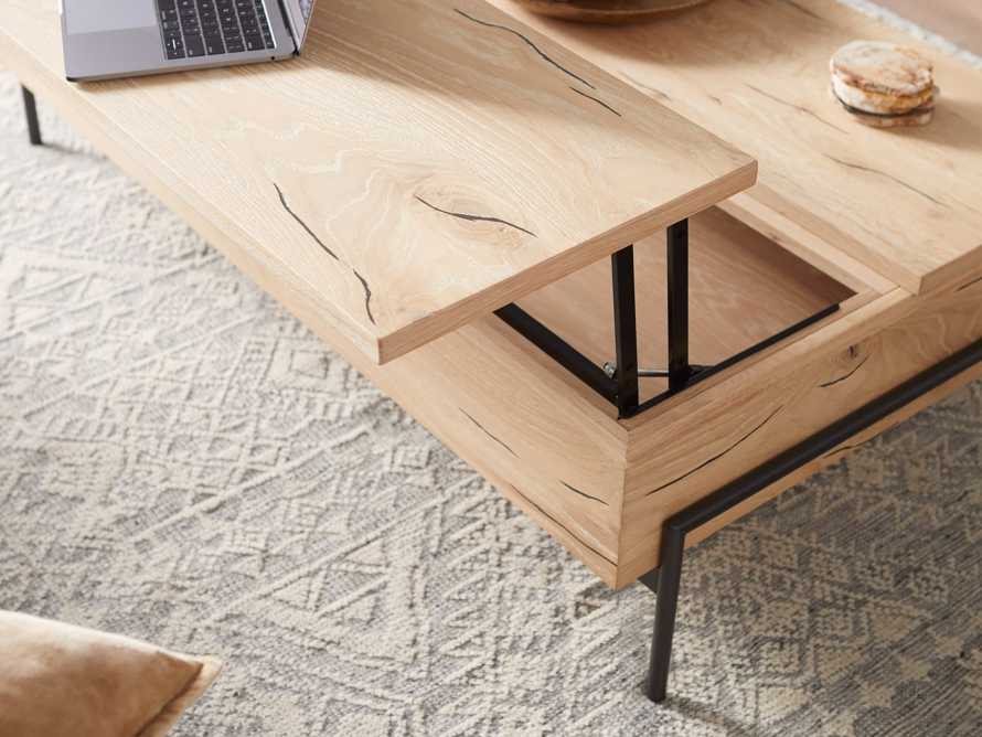 """Sullivan 54"""" Coffee Table in Sable, slide 9 of 12"""