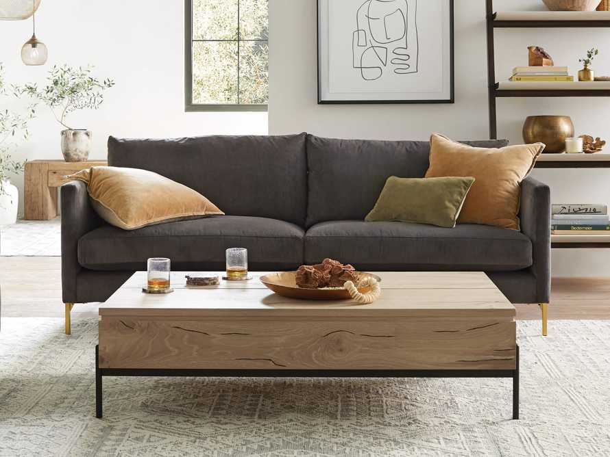 """Sullivan 54"""" Coffee Table in Sable, slide 7 of 12"""