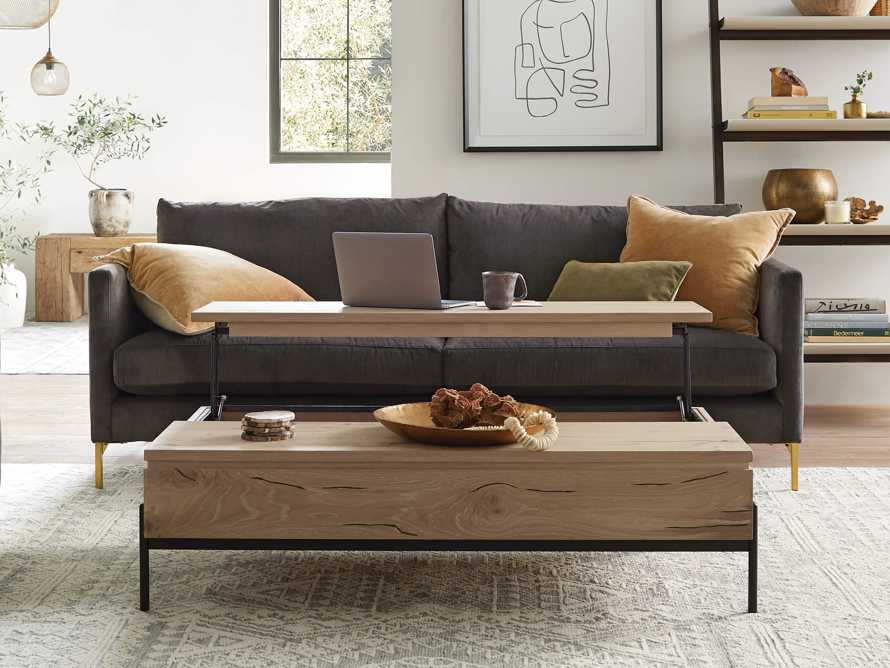 """Sullivan 54"""" Coffee Table in Sable, slide 1 of 12"""