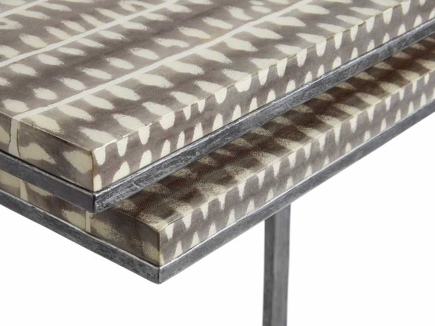 """Thea 23"""" Nesting Tables, slide 2 of 5"""