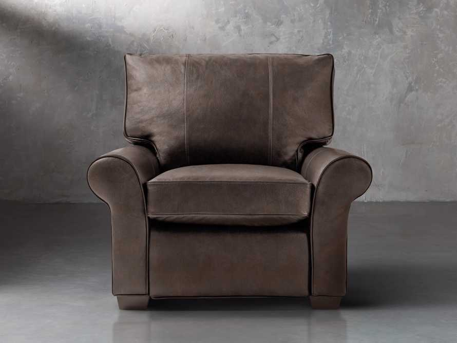 """Brentwood Comfort Motion Leather 43"""" Recliner"""