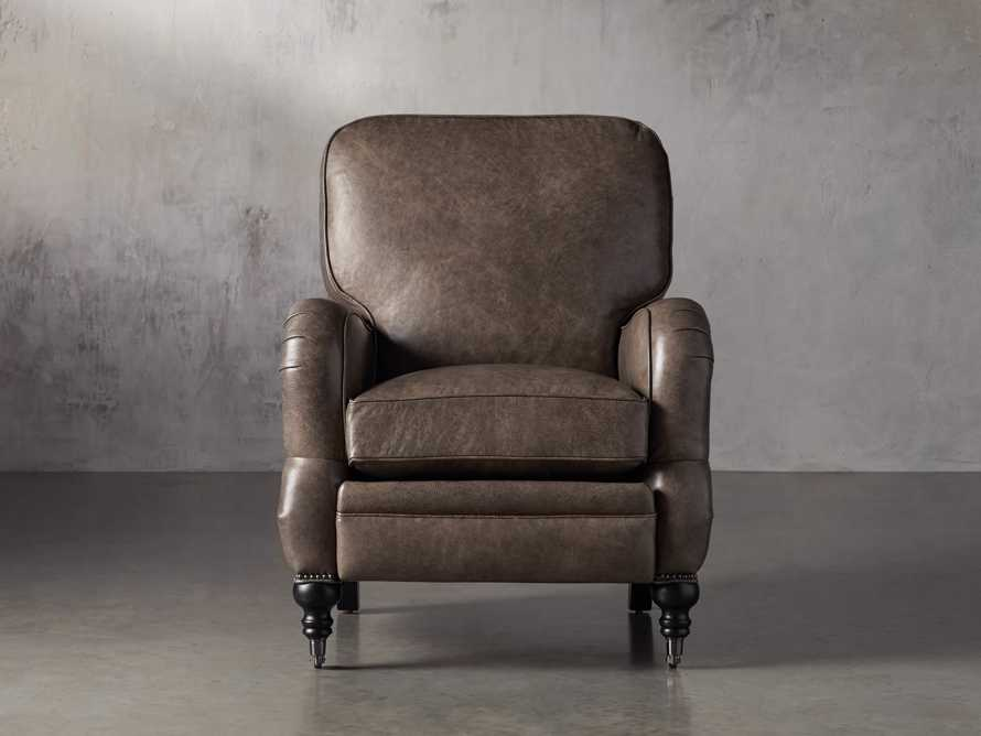 "Brooklyn 32"" Leather Recliner, slide 1 of 12"
