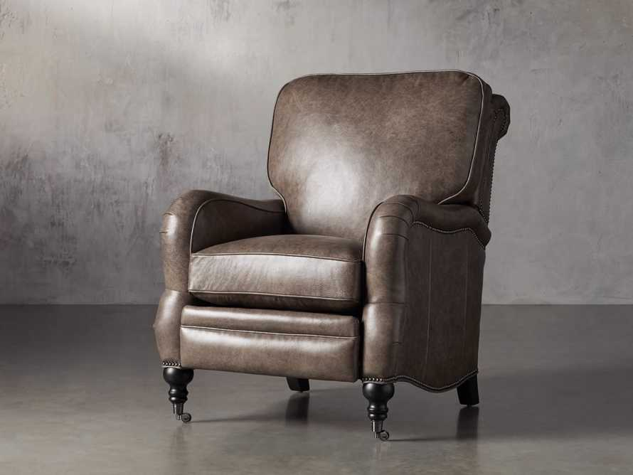 "Brooklyn 32"" Leather Recliner, slide 2 of 12"