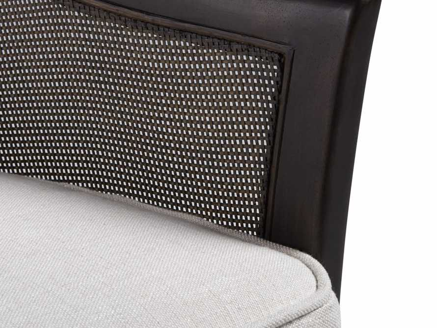 """Nadine Upholstered 27"""" Chair in Chateau Linen"""