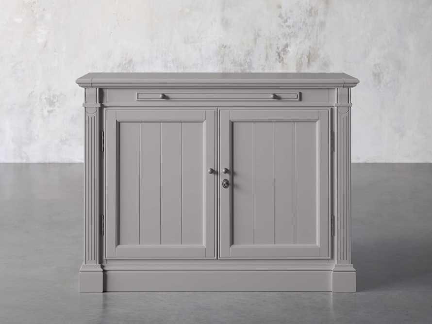 Athens Modular Two Door Cabinet in Stratus, slide 1 of 11