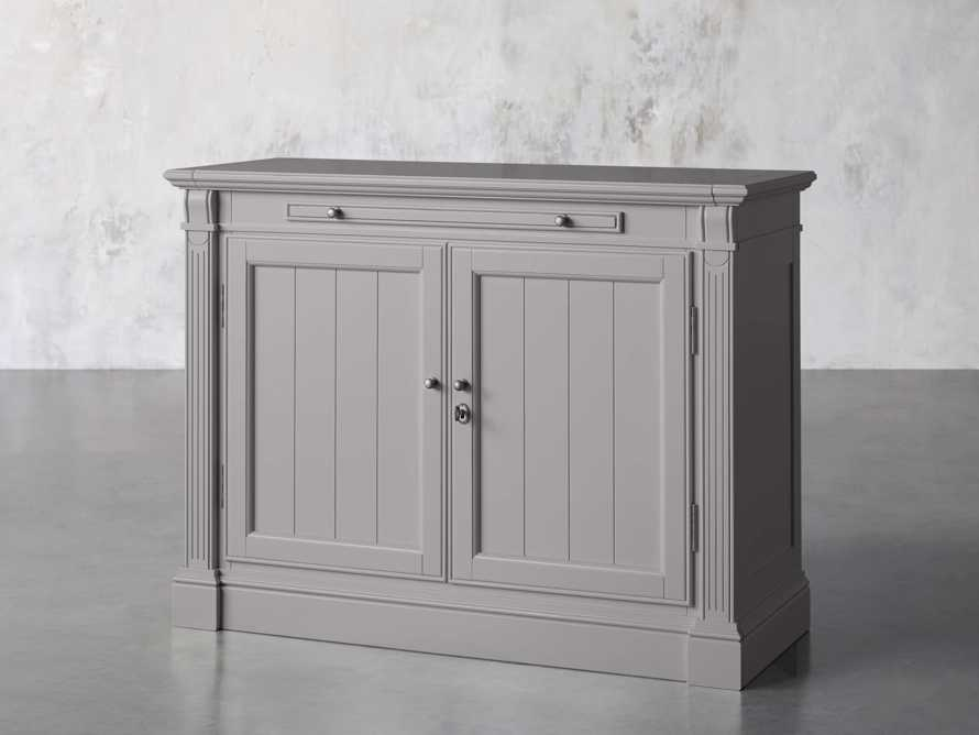 Athens Modular Two Door Cabinet in Stratus, slide 4 of 11