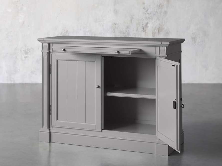 Athens Modular Two Door Cabinet in Stratus, slide 2 of 11