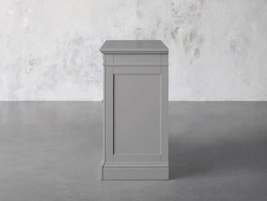 Athens Modular Two Door Cabinet in Stratus, slide 3 of 11