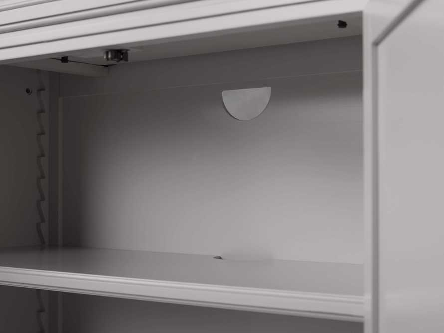 Athens Modular Two Door Cabinet in Stratus, slide 7 of 11