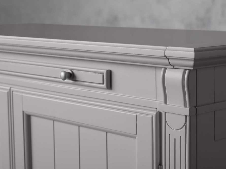 Athens Modular Two Door Cabinet in Stratus, slide 9 of 11