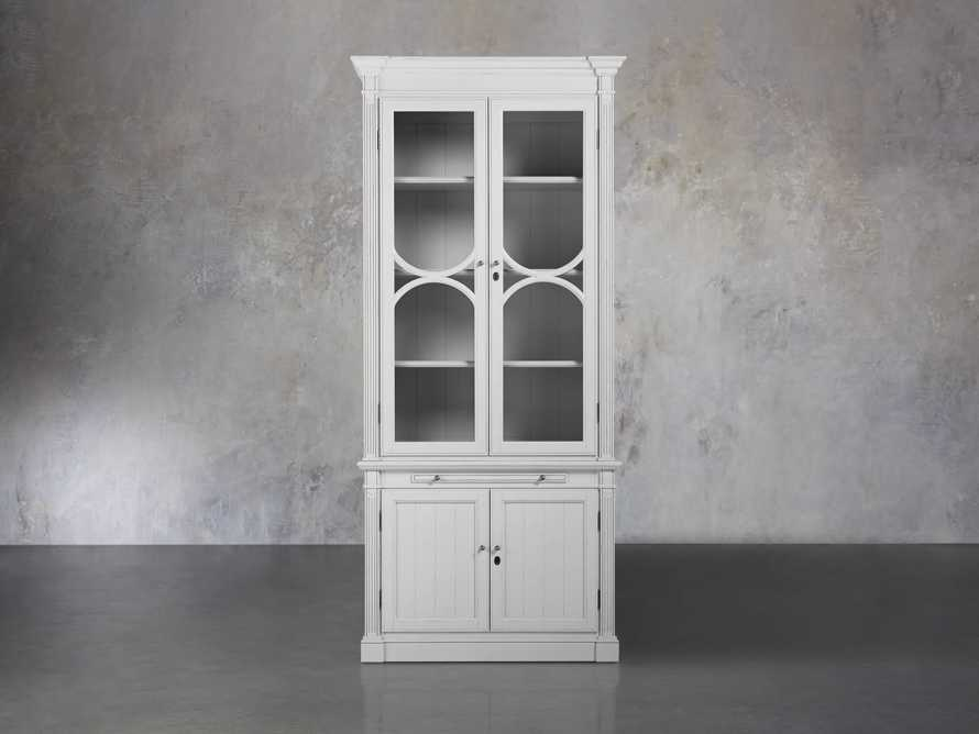 Athens Display Cabinet in Nimbus