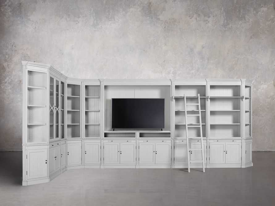 Athens Grand Wall Unit in Nimbus, slide 4 of 7
