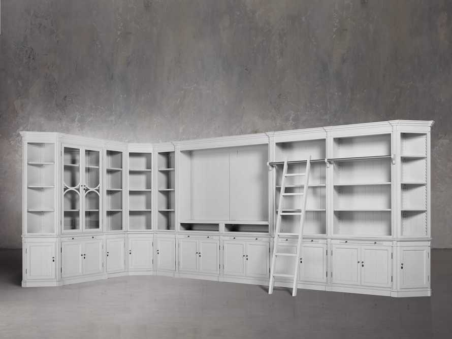 Athens Grand Wall Unit in Nimbus, slide 2 of 7