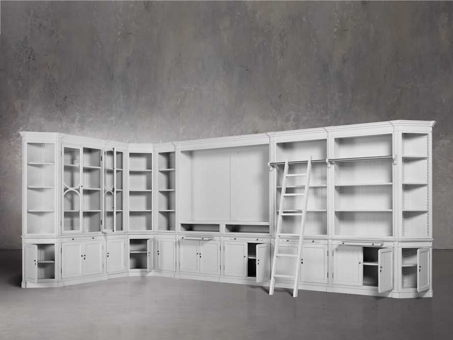 Athens Grand Wall Unit in Nimbus, slide 3 of 7