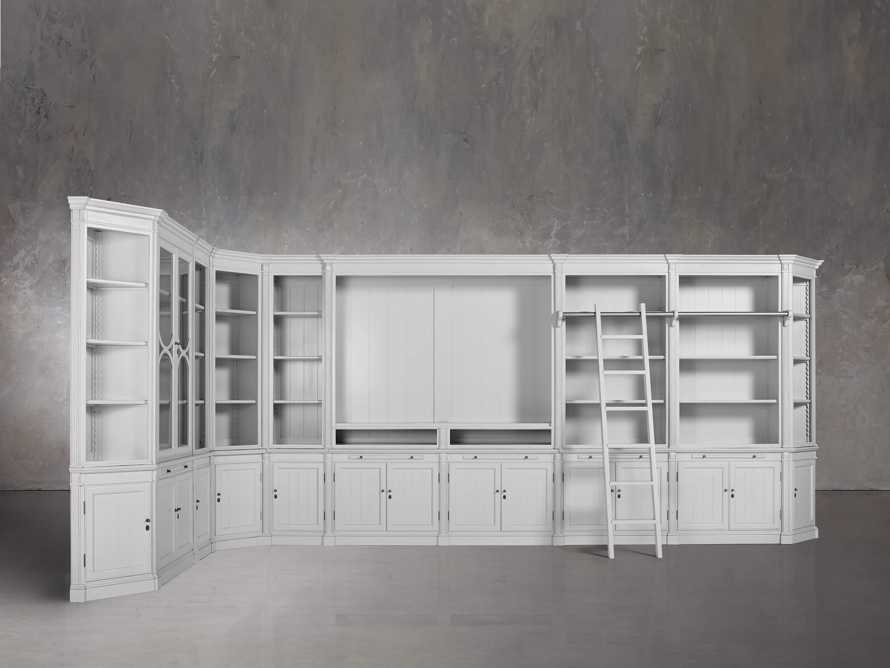 Athens Grand Wall Unit in Nimbus, slide 1 of 7