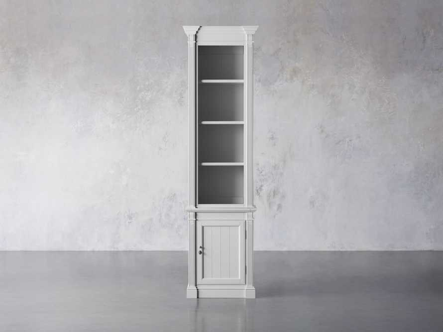 Athens Modular Narrow Bookcase in Nimbus, slide 1 of 5
