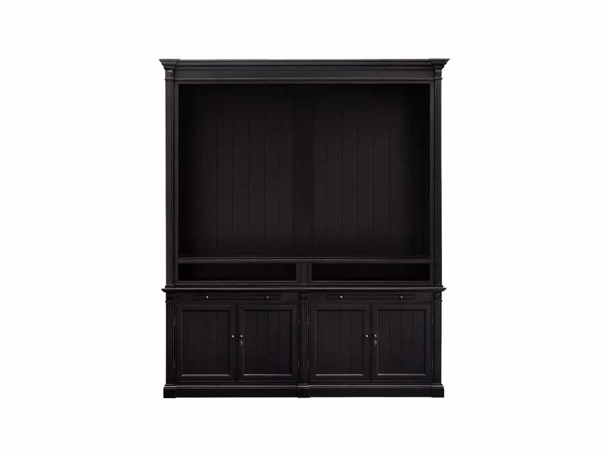Athens Modular Media Cabinet in Tuxedo Black, slide 3 of 3