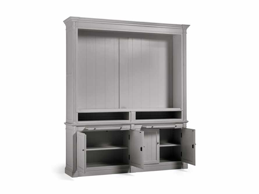 Athens Modular Media Cabinet in Stratus, slide 4 of 5