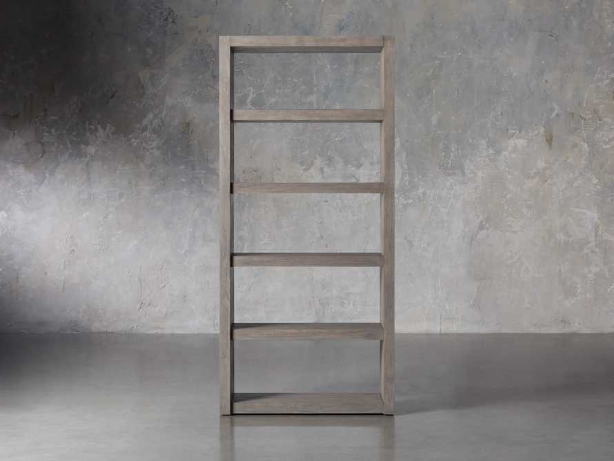 "Bodhi 38"" Open Bookcase in Grey, slide 1 of 4"