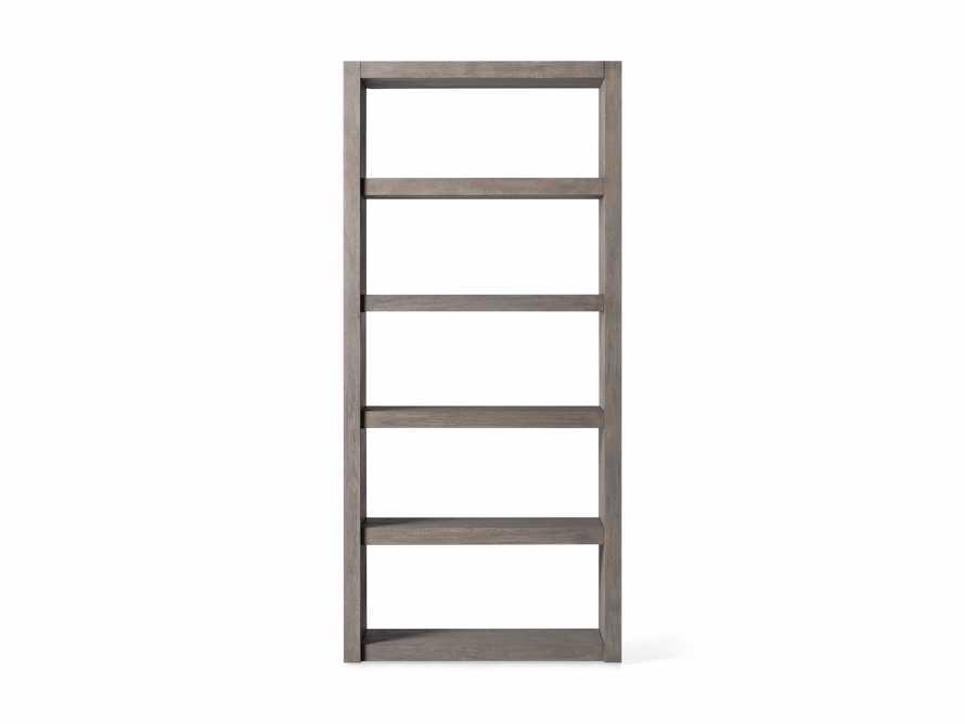 "Bodhi 38"" Open Bookcase in Grey, slide 4 of 4"