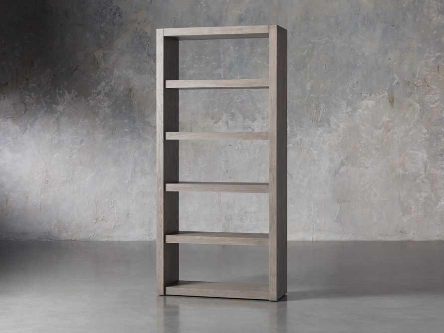 "Bodhi 38"" Open Bookcase in Grey, slide 2 of 4"