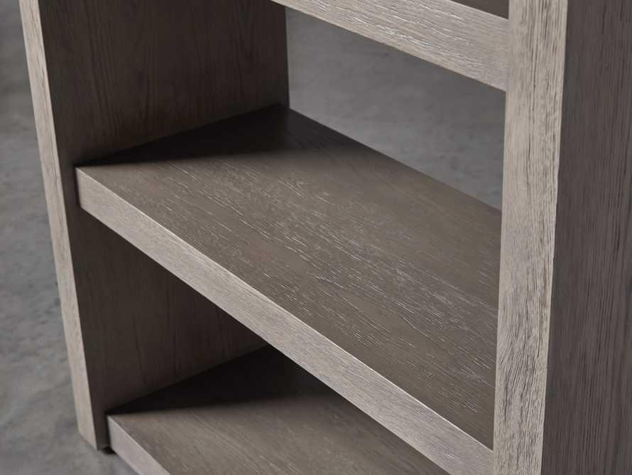 "Bodhi 38"" Open Bookcase in Grey, slide 3 of 4"