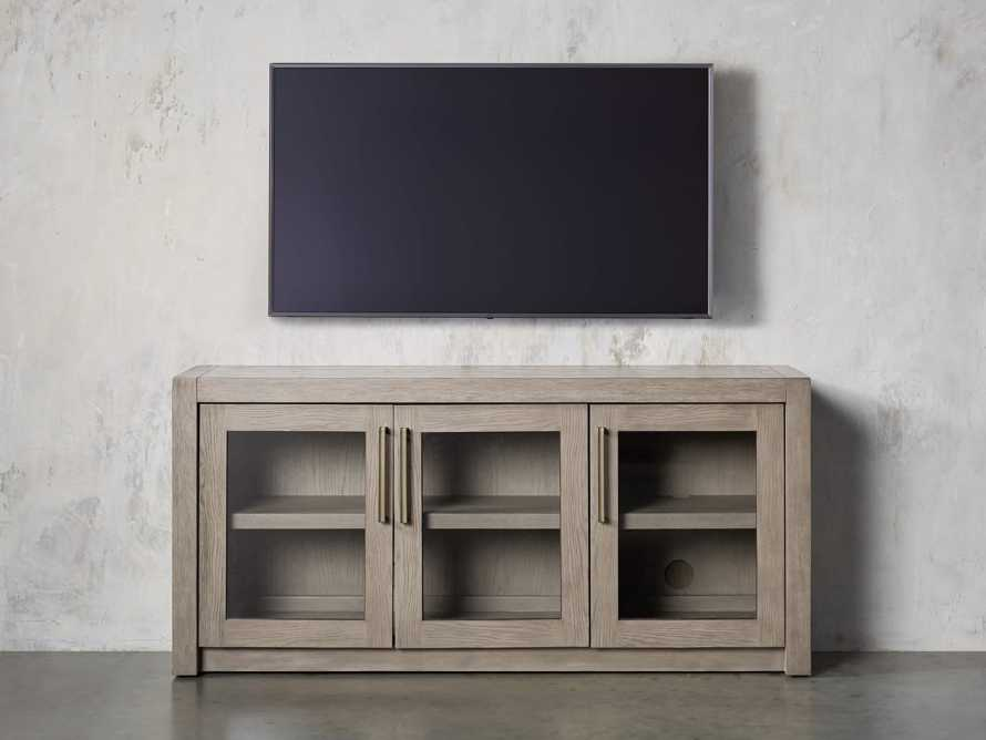 """Bodhi 60"""" Media Console in Salvaged Grey, slide 3 of 6"""