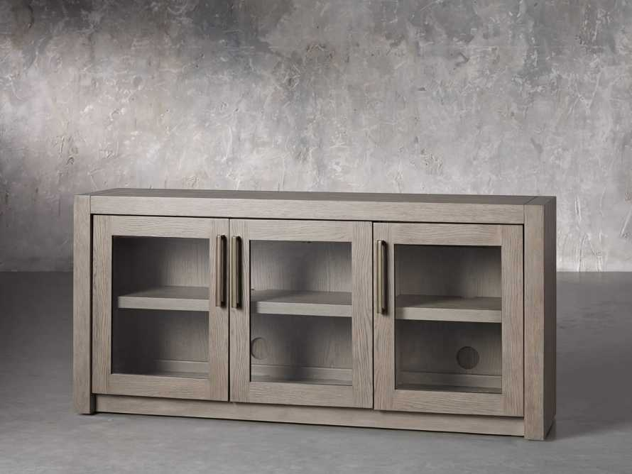 """Bodhi 60"""" Media Console in Salvaged Grey, slide 2 of 6"""