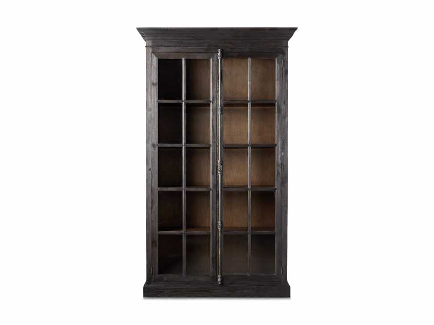 "Chorus Theory 54"" Cabinet With Glass Doors in Ebony, slide 4 of 4"