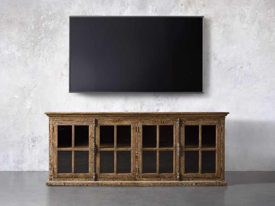 """Chorus Theory 80"""" Media Console in Benedict Brown, slide 5 of 9"""